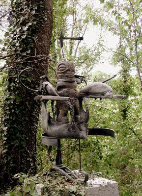 Daniel Spoerri im Skulpturengarten Italien 4