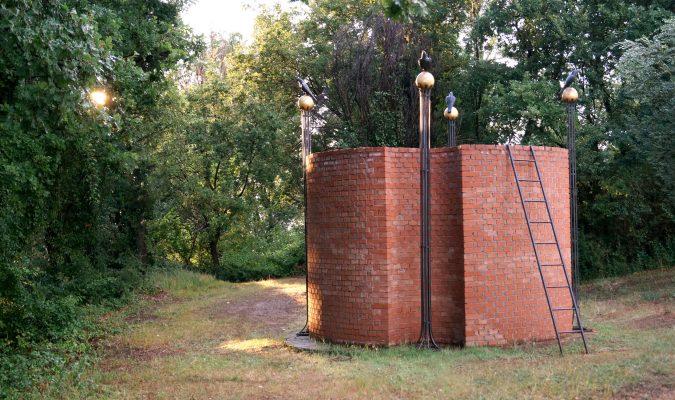 Alfonso Hüppi im Giardino di Daniel Spoerri 33