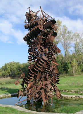 Artist Work 58-2 Arman Giardino di Daniel Spoerri Italy