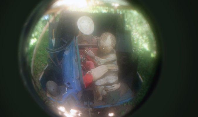 Bernard Pras im Giardino di Daniel Spoerri