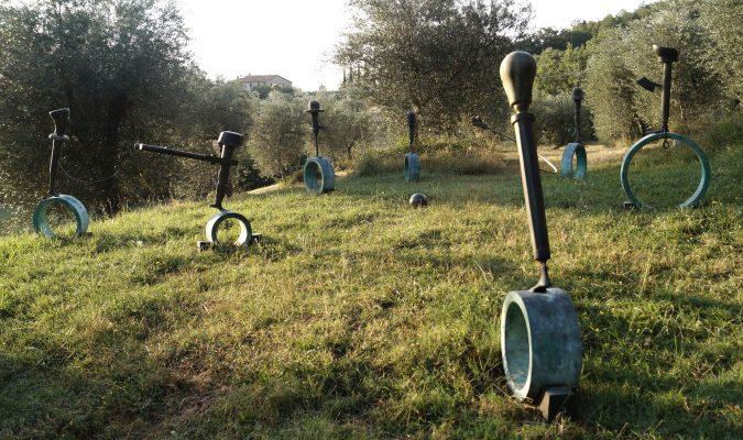 Daniel Spoerri Skulptur Seggiano Italien