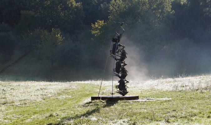 Daniel Spoerri Skulptur Giardino Garten 101-1