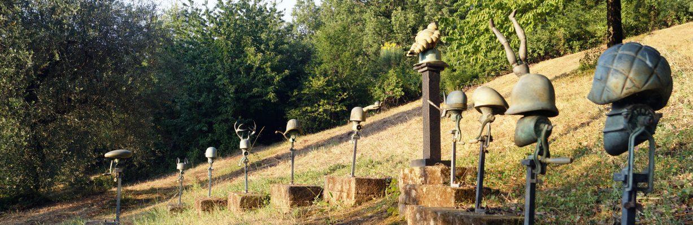 Daniel Spoerri Installation Skulpturengarten 11-2