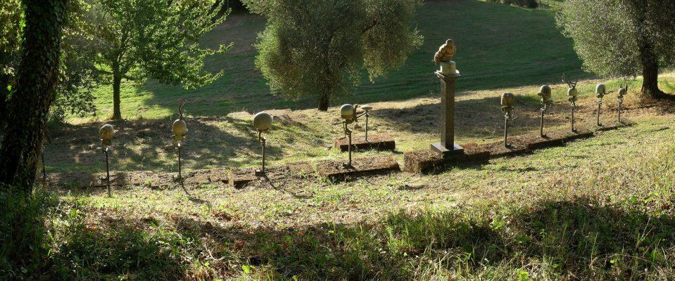 Daniel Spoerri Installation Skulpturengarten 11-3