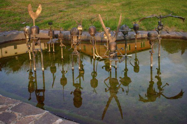 Daniel Spoerri Skulptur Giardino Italien 13-3