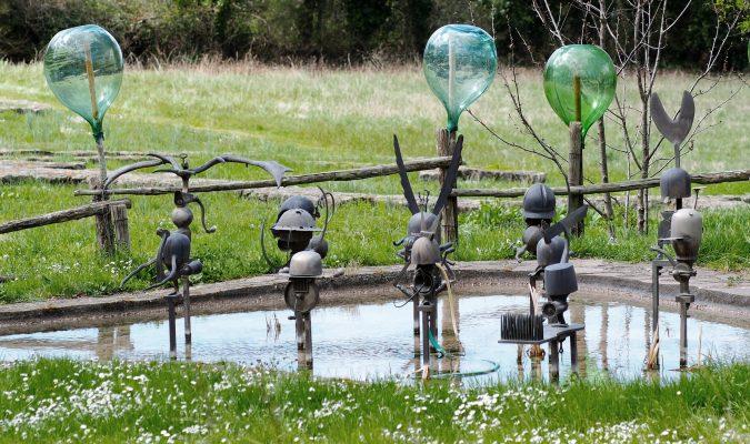 Daniel Spoerri Skulptur Giardino Italien 13-5