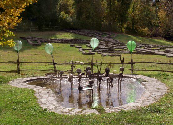 Daniel Spoerri Skulptur Giardino Italien 13