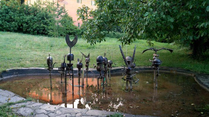 Daniel Spoerri Skulptur Giardino Italien 13-7