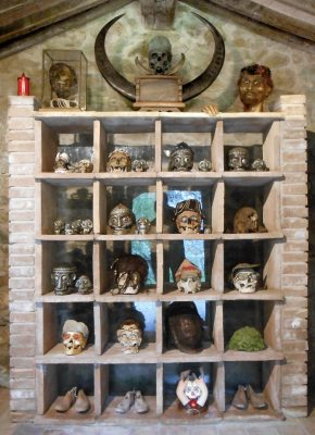Daniel Spoerri Installation im Giardino 26-1