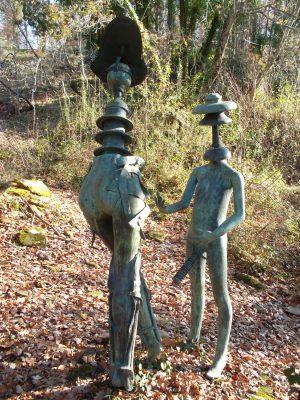 Daniel Spoerri im Skulpturengarten Seggiano, Italien 31-2