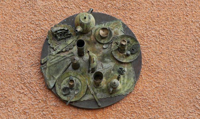 Daniel Spoerri im Skulpturengarten Italien 6