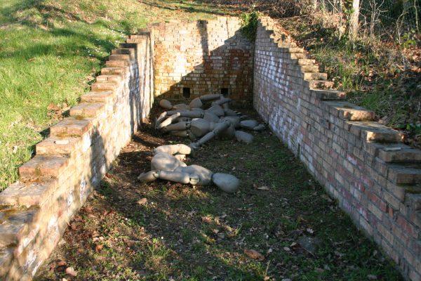 Daniel Spoerri Skulpur im Giardino 66-1