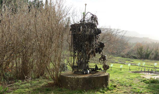 Daniel Spoerri Skuptur im Giardino 80