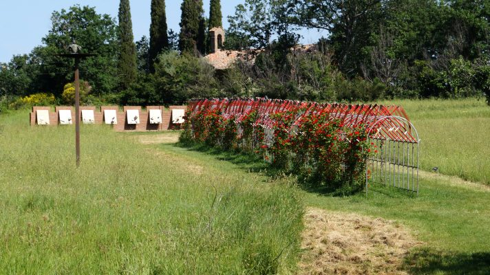 Daniel Spoerri Installation im Skulpturenpark Italien 90-91