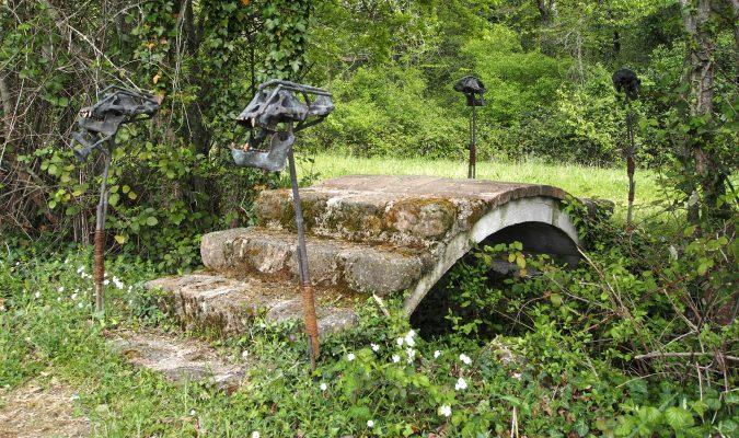 Daniel Spoerri Brücke Giardino 92-1