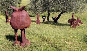Artist Work 41-2 Erik Dietmann Giardino di Daniel Spoerri Italy