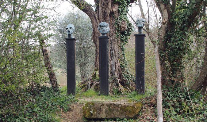 Artist Work 48 Eva Aeppli Giardino di Daniel Spoerri Italy