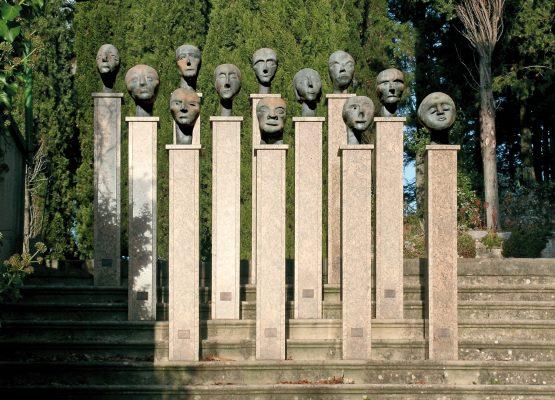 Artist Work 51 Eva Aeppli Giardino di Daniel Spoerri Italy