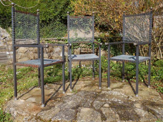 Luciano Ghersi im Giardino di Daniel Spoerri
