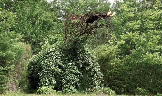 Paul Wiedmer im Giardino di Daniel Spoerri 45