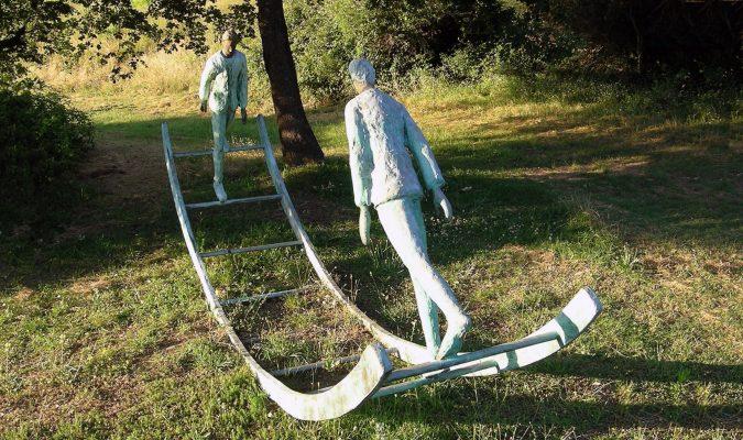 Artist Work 57-1 Roberto Barni Giardino di Daniel Spoerri Italy