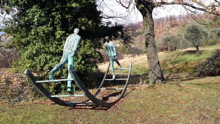 Artist Work 57-2 Roberto Barni Giardino di Daniel Spoerri Italy
