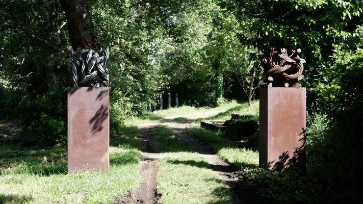 Till Augstin im Giardino di Daniel Spoerri 70-2