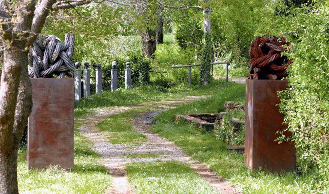 Till Augstin im Giardino di Daniel Spoerri 70