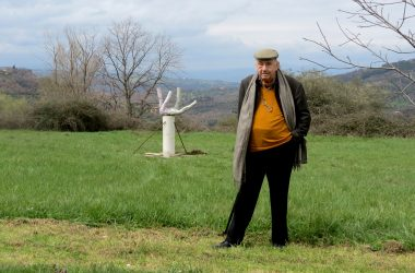 Artist Daniel Spoerri at Giardino