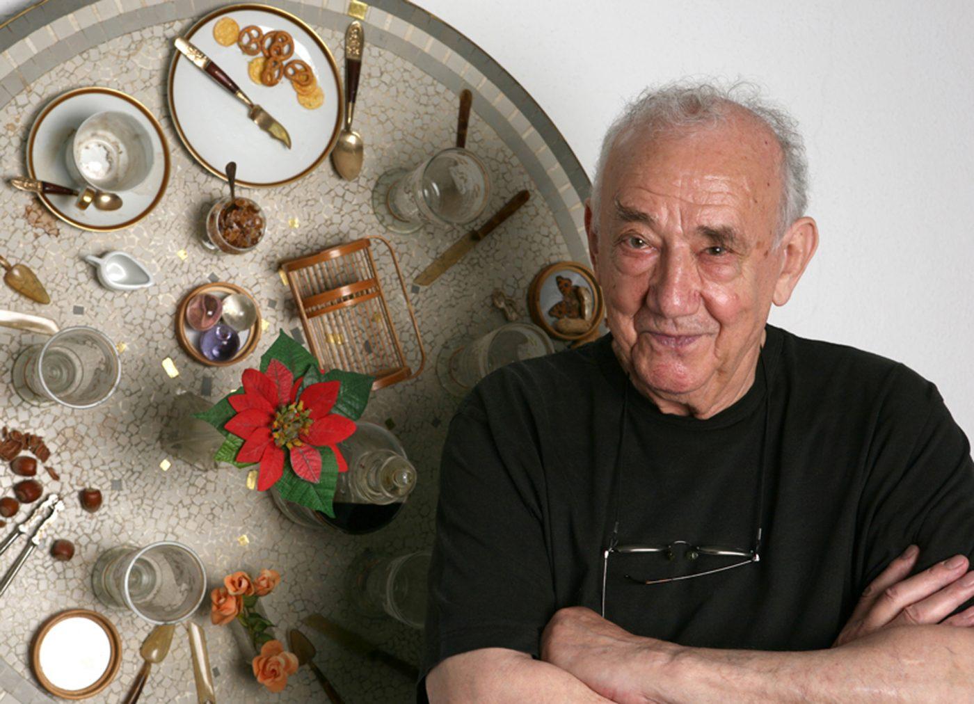 Artist Daniel Spoerri 5