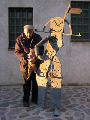 Künstler Daniel Spoerri 3171