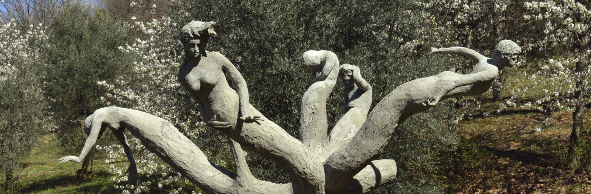 Artist Angelo Maineri Giardino di Daniel Spoerri