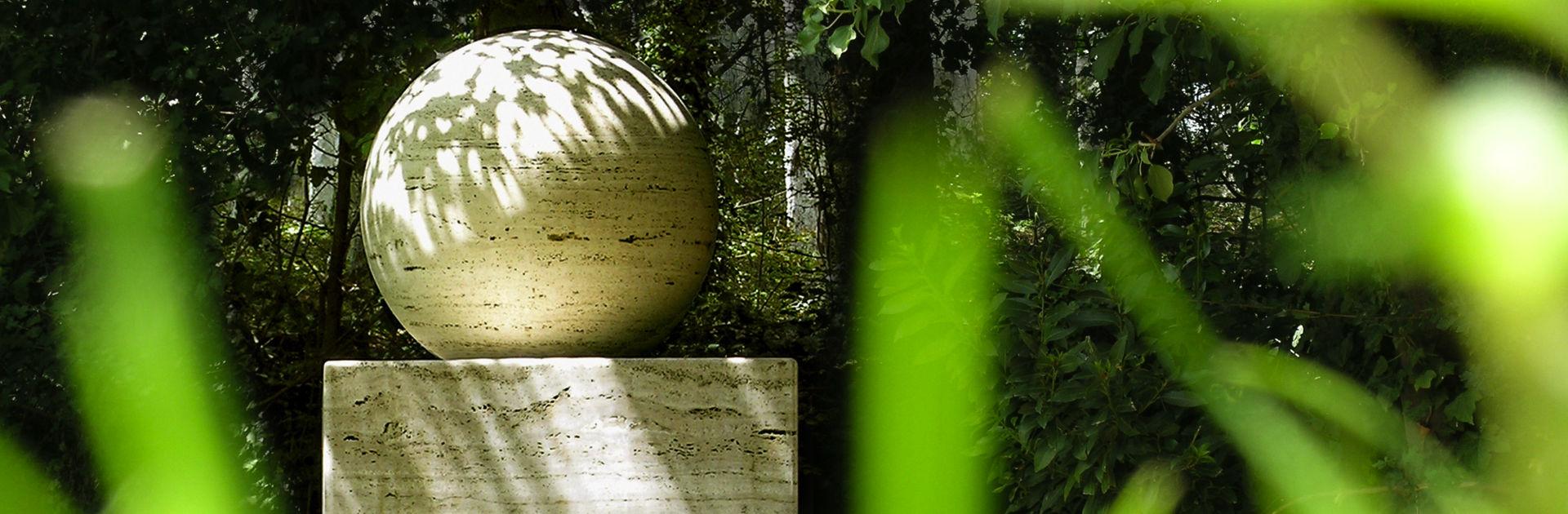 Künstler Johann Wolfgang von Goethe im Giardino di Daniel Spoerri