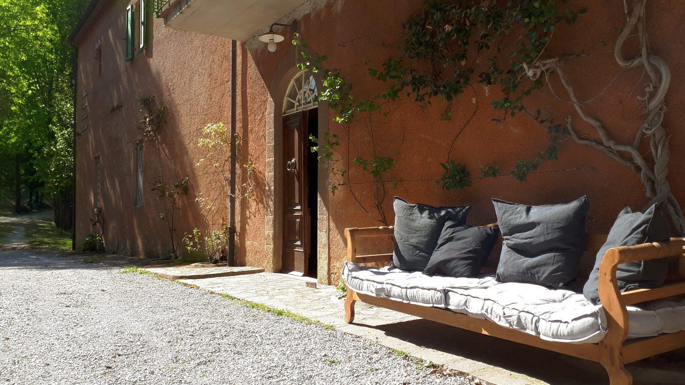 Appartments und Restaurant im Giardino di Daniel Spoerri Italien