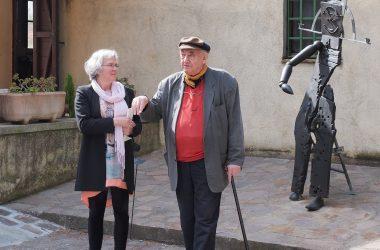 Barbara Räderscheidt Stiftungsrat Stiftung Hic Terminus Haeret Il Giardino di Daniel Spoerri