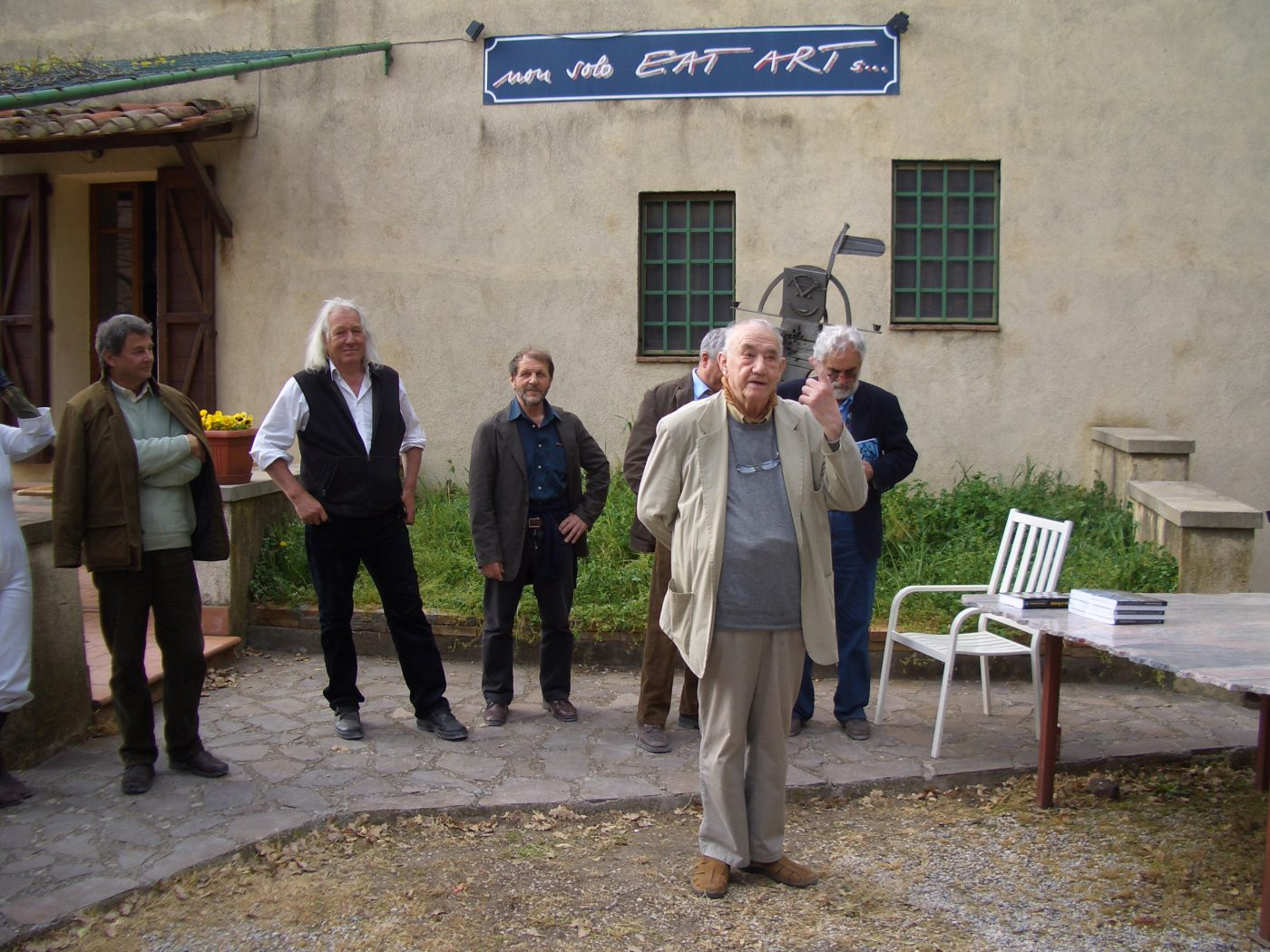 Openings at the Giardino di Daniel Spoerri, Italy
