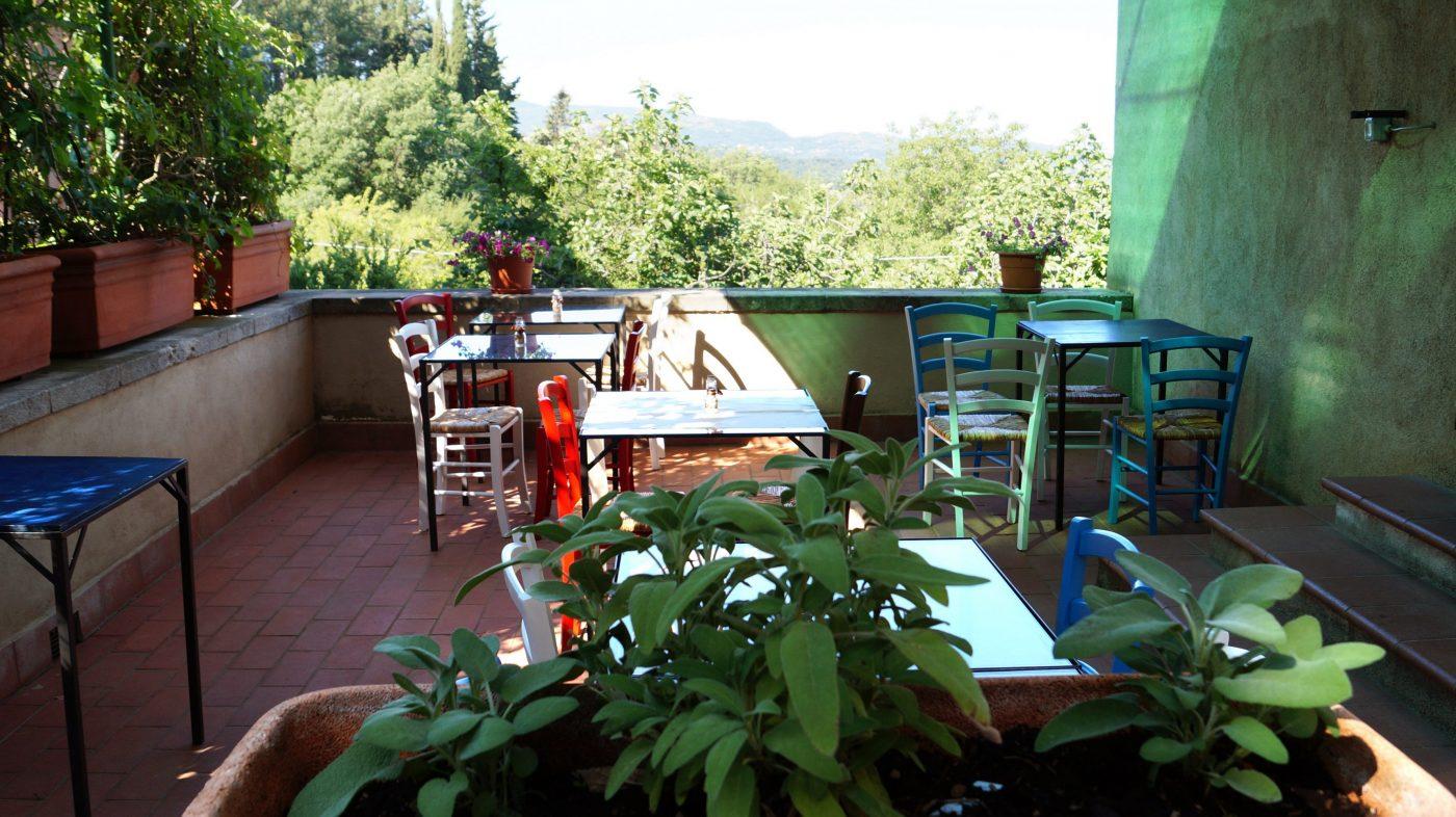 Bar / Ristorante Giardino di Daniel Spoerri Seggiano Italia